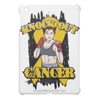 Knock Out Appendix Cancer iPad Mini Cases