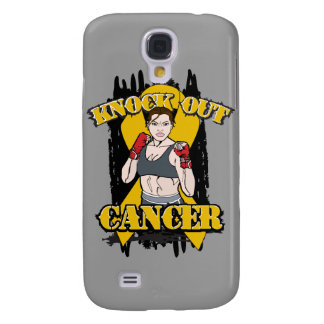 Knock Out Appendix Cancer Samsung Galaxy S4 Covers