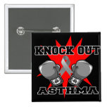 Knock Out Asthma Buttons