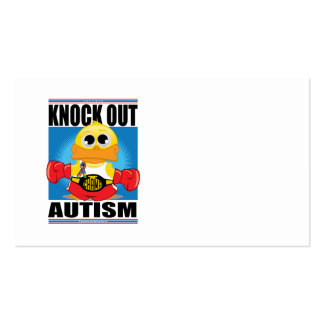 Knock Out Autism Business Cards