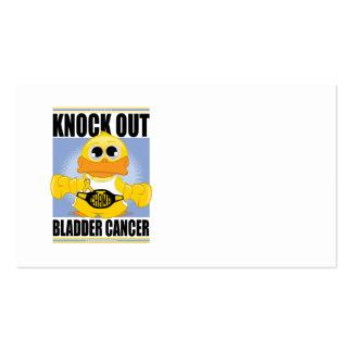 Knock Out Bladder Cancer Business Card