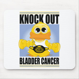 Knock Out Bladder Cancer Mouse Pad