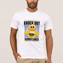 Knock Out Bladder Cancer T-Shirt