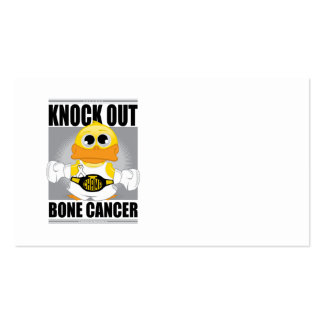 Knock Out Bone Cancer Business Card