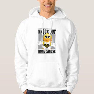 Knock Out Bone Cancer Hoodie