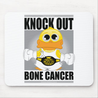 Knock Out Bone Cancer Mouse Pad