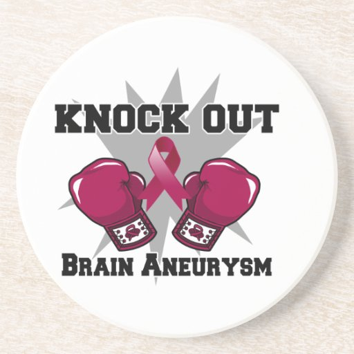 Knock Out Brain Aneurysm Coasters