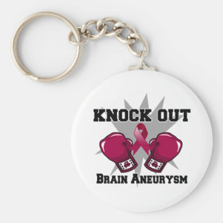 Knock Out Brain Aneurysm Keychains