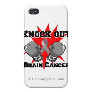 Knock Out Brain Cancer Cases For iPhone 4
