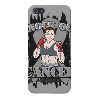 Knock Out Brain Cancer Covers For iPhone 5