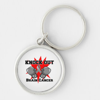 Knock Out Brain Cancer Key Chain