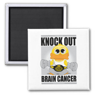Knock Out Brain Cancer Magnet