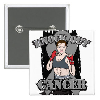 Knock Out Brain Cancer Pins