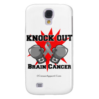 Knock Out Brain Cancer Samsung Galaxy S4 Case