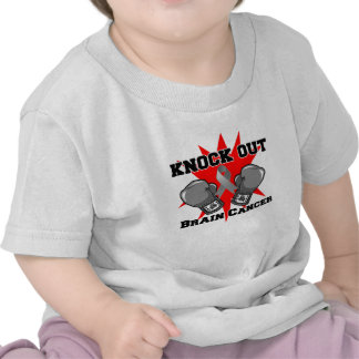 Knock Out Brain Cancer T Shirts