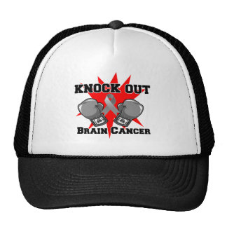 Knock Out Brain Cancer Trucker Hat