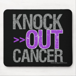 Knock Out Cancer - GIST CANCER Mouse Pad