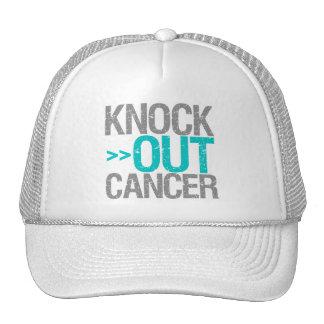Knock Out Cancer - Gynecologic Cancer Mesh Hat