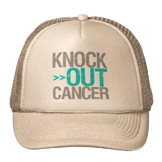 Knock Out Cancer - Gynecologic Cancer Trucker Hat