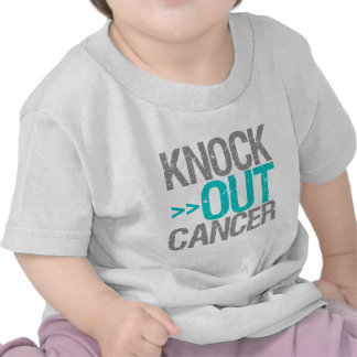 Knock Out Cancer - Gynecologic Cancer Shirt