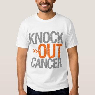 Knock Out Cancer - Leukemia T-shirt