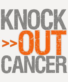 Knock Out Cancer - Leukemia Tshirts