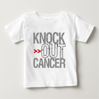 Knock Out Cancer - Lung Cancer Baby T-Shirt