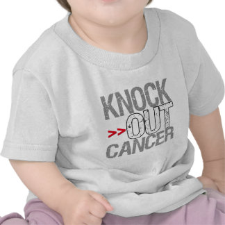 Knock Out Cancer - Lung Cancer Tshirts