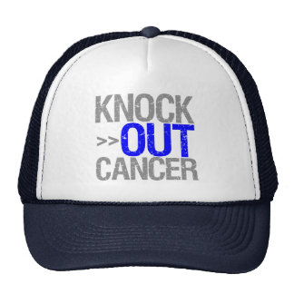 Knock Out Cancer - Male Breast Cancer Hat