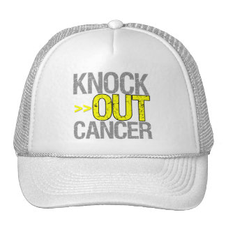 Knock Out Cancer - Testicular Cancer Trucker Hat