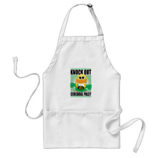 Knock Out Cerebral Palsy Adult Apron