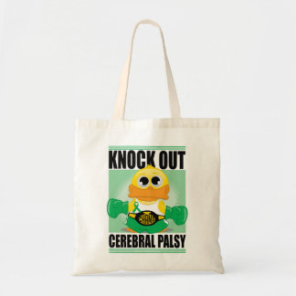 Knock Out Cerebral Palsy Budget Tote Bag