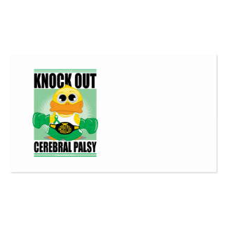 Knock Out Cerebral Palsy Business Card