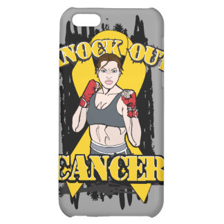 Knock Out Childhood Cancer iPhone 5C Cases