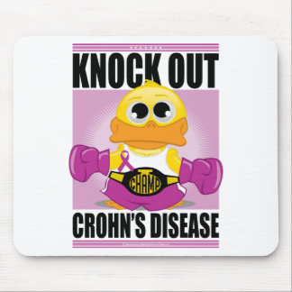 Knock Out Crohn's Disease Mouse Pad