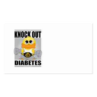Knock Out Diabetes Business Card
