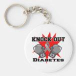 Knock Out Diabetes Key Chains