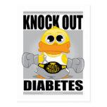 Knock Out Diabetes Postcard