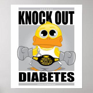 Knock Out Diabetes Print