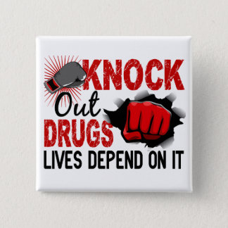 Knock Out Drugs 2 Male Fist Button