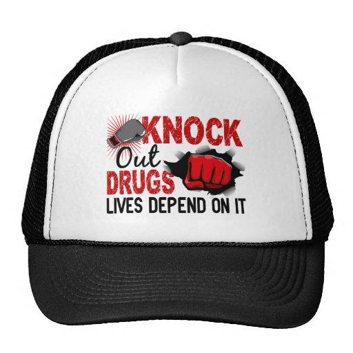 Knock Out Drugs 2 Male Fist Trucker Hat
