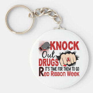 Knock Out Drugs Female Fist Keychains