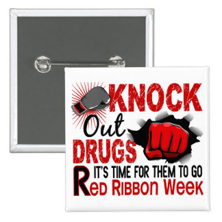 Knock Out Drugs Male Fist Pins