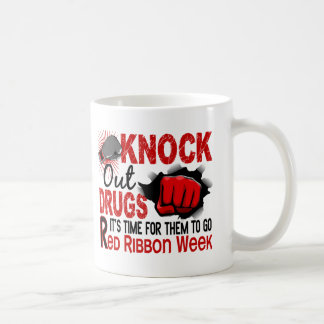 Knock Out Drugs Male Fist Classic White Coffee Mug