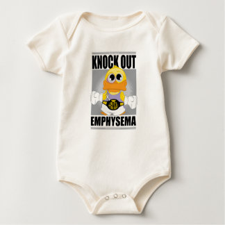 Knock Out Emphysema Baby Bodysuit