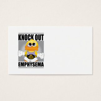 Knock Out Emphysema Business Card