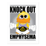 Knock Out Emphysema Post Card