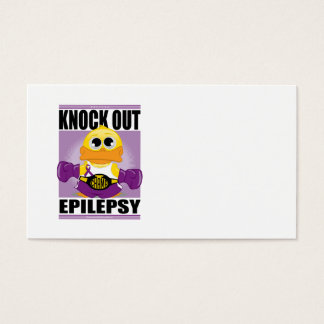 Knock Out Epilepsy Business Card