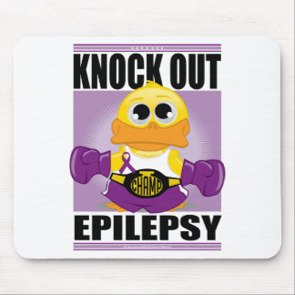 Knock Out Epilepsy Mouse Pad
