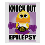 Knock Out Epilepsy Poster